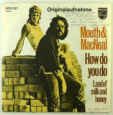 """7"""" Single - Mouth & MacNeal - How Do You Do? / Land Of Milk And Honey - S2122"""
