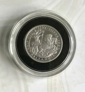 ~Simply Coins~ 1997 SILVER PROOF BRITANNIA 1/2 OZ 1 POUND COIN 99P NO RESERVE!!