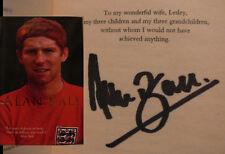Alan Ball WM 66 England Weltmeister Orig Buch signiert signed autograph Signatur