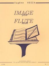 Eugène Bozza Image Op 38 Flute Songsentury Flute Learn to Play MUSIC BOOK