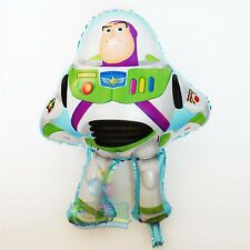 "Buzz Lightyear shaped foil balloon 27.5"" x 19.75 inches  66cm x 50cm Toy Story"