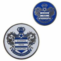 Official Club Queens Park Rangers Golf Ball Marker Large Metal Double Sided 25mm