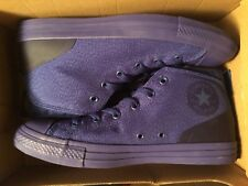 CONVERSE CHUCK TAYLOR ALL STAR  CTAS SYDE STREET MID Size 10 Royal Blue