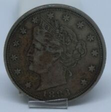 More details for 1883 u.s.a. liberty v nickel | world coins | pennies2pounds