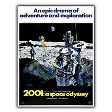 2001 una odisea del Espacio Stanley Kubrick Metal SIGN pared placa Sci-fi cartel impresión