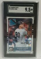 2017 Panini Donruss OPTIC #38 AARON JUDGE ROOKIE SGC 9 Mint Yankees RC 🔥🔥🔥