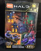 Mega Construx Halo Sword Base Invasion Spartans VS Skirmish GLB75 Figure Set