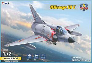 DASSAULT MIRAGE IIIC (France, S.A. & Israël) MODELSVIT 1/72 Plastic Kit