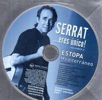 Estopa Serrat MEDITERRANEO CD Single