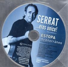 Estopa Serrat MEDITERRANEO CD Single