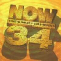 Now Thats What I Call Music! Vol. 34 CD - Brand New and Sealed Music Audio CD
