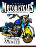 Men Coloring Book-Vintage Motorcycles Coloring B (US IMPORT) BOOK NEW