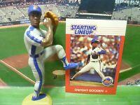 1988  DWIGHT GOODEN - Starting Lineup Baseball Figure & Card - NEW YORK METS
