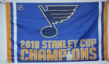 St. Louis Blues 2019 Champion Flag 3x5ft Stanley Cup Champions banner