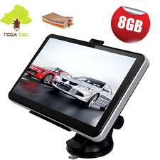 """Noza Tec 8gb 7"""" Car GPS SAT NAV Navigation System FM SpeedCam POI UK EU Maps"""
