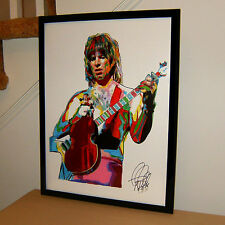 Nigel Tufnel Christopher Guest Spinal Tap Guitar Music Poster Print Art 18x24