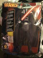 Rubies Darth Vader Star Wars ~ Halloween Large Boys 12-14  #108 Costume New
