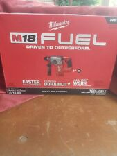 """Milwaukee 2712-20 M18 FUEL 1"""" SDS Plus Rotary Hammer TOOL ONLY"""