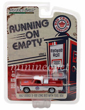 GREENLIGHT 41020 A 1962 DODGE D-100 LONG BED w TOOL BOX RED CROWN GASOLINE 1/64