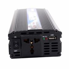 Car Power Inverter DC 12V to AC 220V 2000W Modified Sine Wave Converter USB Port