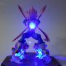 Rare Dragon Ball Z Vegeta Power Up LED Light Table Lamp Figure Kid's Gift Toy UK