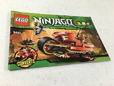 Lego Ninjago 9441 Instruction Manual Only