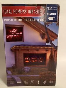 ProductWorks Total Home FX 800 Series Window Holiday Projector 12 videos