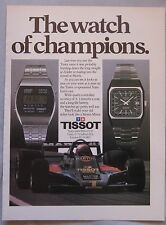 Tissot Watch Original advert