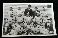 Old Baseball Team REAL PHOTO POSTCARD - KODAK PAPER Blank Verso