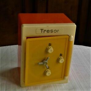 "DDR Spardose "" Tresor "" seltene Farbgebung Sparbüchse PGH Spielzeugland"