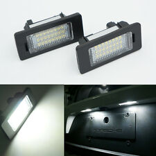 2x LED License Number Plate Light Lamp SMD CANBUS for BMW E90 E39 E60 E46 E70