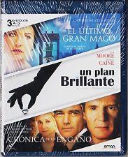 Pack 3 blu-ray: EL ÚLTIMO GRAN MAGO, UN PLAN BRILLANTE, CRÓNICA DE UN ENGAÑO