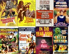 19 CULT CHEAPO MOVIES on one MP4 DVD-ROM - so bad they're good ! * Ed Woods Jr *