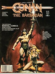 1982 Marvel Super Special #21: Conan The Destroyer - VF/nMint