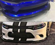CARBON Fiber Lip Spoiler for DODGE CHARGER SRT HELLCAT 2016 2017 2018 2019