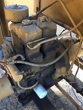 2 Cylinder Lister Petter Electric Start Diesel Engine & Generator Marine Miltary