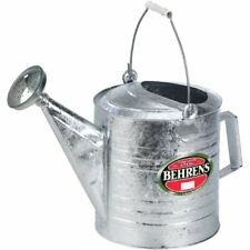 Behrens 210 2.5 Gallon Hot Dipped Galvanized Steel Watering Sprinkling Can