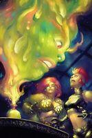 Red Sonja Age of Chaos #4 Dynamite Comic Book  1:21 Hetrick Virgin Variant