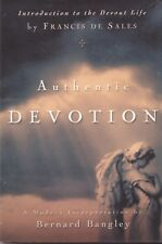 CATHOLIC BOOK    AUTHENTIC DEVOTION  BY FRANCIS DE SALES INTER. BANGLEY