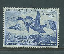 Rw19 1952 Federal Duck (Dick) F-Vf Unsigned No Gum No Fault -Ebay Low-Ex