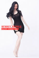 PHICEN 1/6 Seamless Female Figure Asian Black Hair Sexy Beauty Doll Set ☆USA☆