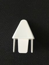 """Picket Caps - PVC Vinyl Fence Point Internal Fit for 7/8 x1 1/2"""" picket (12pc)"""