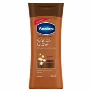 Vaseline Intensive Care Cocoa Glow Body Lotion(200 ml) Free Shipping Worldwide