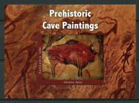 Tanzania Art Stamps 2017 MNH Prehistoric Cave Paintings Altamira 1v S/S I