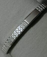 NOS Speidel Twist-O-Flex Long S.S Adj 9.5-12.5mm Ends Full Expansion Watch Band