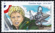 2014 FRANCE PA 78** Caroline Aigle, Pilote de Chasse (Aviation), France 2014 MNH