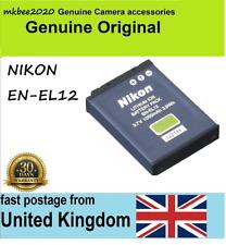Genuine Original NIKON EN-EL12 Battery,CoolPix A900 W300 S9900 S9700 AW130