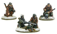 Warlord Games Bolt Action US Army 50cal HMG TeamWinter 403013004 Unpainted Mini
