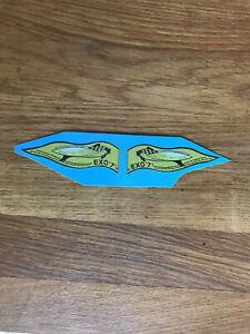"Transfert logo fanion poisson ""EXO7"" pour canots Navy"