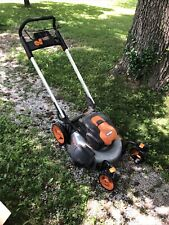 worx wg771 lawnmower Only 56v (Bent Blade-needs Replacement)